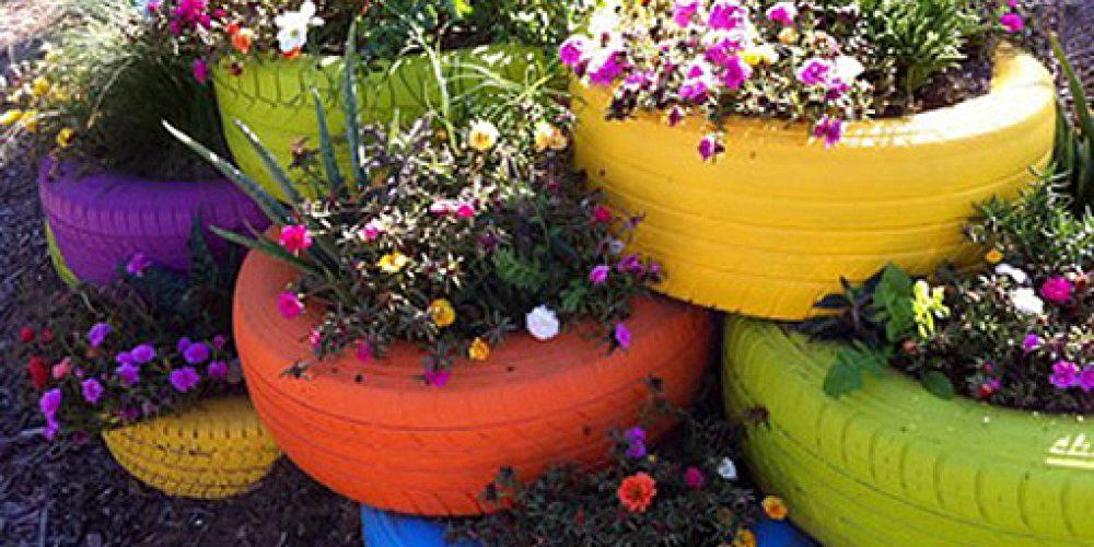 Reciclando dale vida a tu jardín