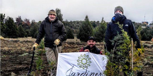 Donación Plantas Plaza Meliquina
